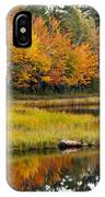 Maine Fall IPhone Case