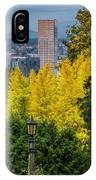 Fall In Portland Or 2 IPhone Case