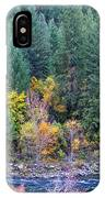 Fall In Spokane IPhone Case