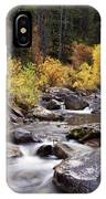 Fall In The Grand Tetons IPhone Case