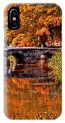 Fall In The Japanese Gardens IPhone Case
