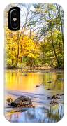 Fall In Wisconsin IPhone Case by Steven Santamour