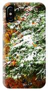 Fall Into Winter IPhone Case