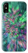 Fall Leaf Zoom Abstract IPhone Case