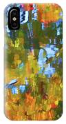 Fall Leaves On River 12 IPhone Case