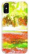 Fall Leaves Trees 2 IPhone Case