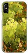 Fall Leaves. IPhone Case