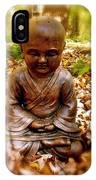 Fall Meditation IPhone Case