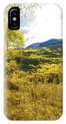 Fall Mountain Scenery IPhone Case