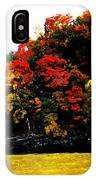 Fall On Grand Lake IPhone Case