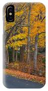 Fall On The Cape IPhone Case