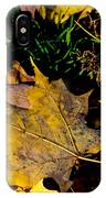 Fall On The Ground IPhone Case