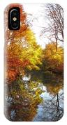 Fall Reflected IPhone Case