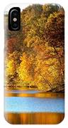 Fall Reflections Of Indiana IPhone Case