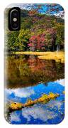 Fall Reflections On Cary Lake IPhone Case
