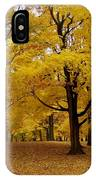 Fall Series 5 IPhone Case