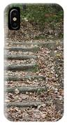 Fall Stairs IPhone Case