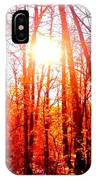 Fall Stroll IPhone Case