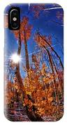 Fall Sun And Trees IPhone Case