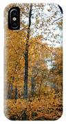 Fall Tees At  Yankee Horse Overlook   IPhone Case