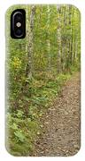 Fall Trail Scene 40 IPhone Case