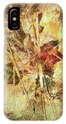 Fall Treasures IPhone Case