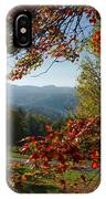 Fall Tree Colors II IPhone Case
