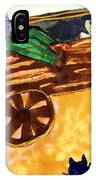 Fall Wagon Ride IPhone Case