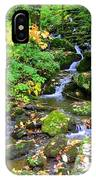 Fall Waterfall IPhone Case