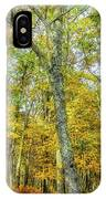 Fall Yellow IPhone Case