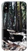 Fallen Sequoia Crescent Meadow Trail IPhone Case