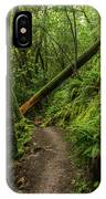 Fallen Tree On The Trail IPhone Case