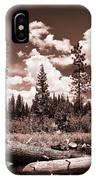 Fallen Trees IPhone Case