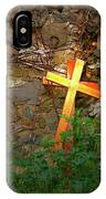 Falling Crosses IPhone Case