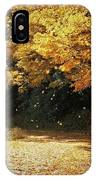 Bass Lake Falling Leaves IPhone Case