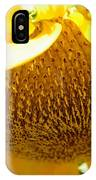 Falling Sunflower IPhone Case
