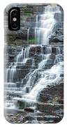 Falls Creek Gorge Trail Ithaca New York IPhone Case
