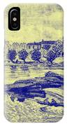 Falls Of The Schuylkill And Fort St Davids 1794 IPhone Case