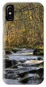 Falltime In Skamania County IPhone Case