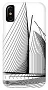 Falmouth Oyster Boat IPhone Case