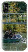 Family Boating If Forest Park IPhone Case