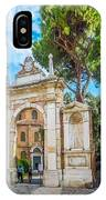 Famous Arc From Basilica Di San Vitale In Ravenna, Italy IPhone Case
