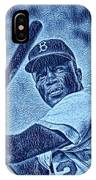 Famous Jackie Robinson IPhone Case