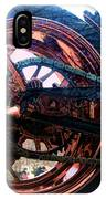 Famous Liberty Bike Copper Ny IPhone Case