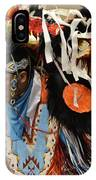 Pow Wow Fancy Dancer 1 IPhone Case