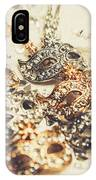 Fancy Dress Timepieces IPhone Case