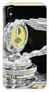 Fancy Framed Hood Ornament IPhone Case
