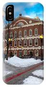 Faneuil Hall Winter IPhone Case