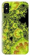Fantastic Abstract On Black IPhone Case