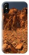 Fantastic Landscape Valley Of Fire IPhone Case